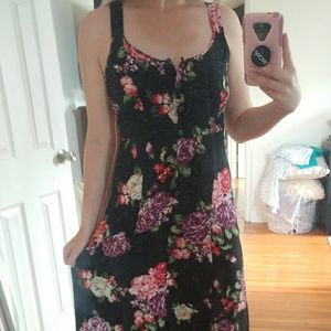 Floral Button Up Maxi